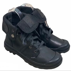 PALLADIUM Black Pallabrouse Baggy L2 Shadow Boots